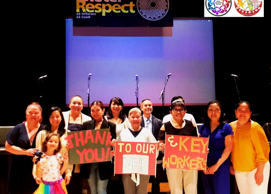 Filipino Choir at Exeter Respect Festival